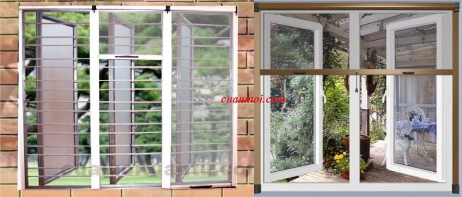 Ngành sản xuất lưới dán cửa sổ chống muỗi.